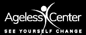 The AgeLess Center Logo White
