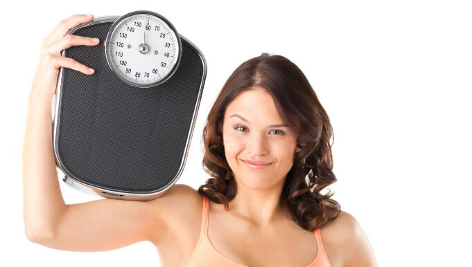 The AgeLess Center weight loss scale results