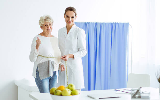 The AgeLess Center weight loss in elderly
